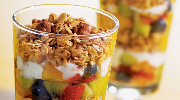 nutty breakfast parfait Recipes